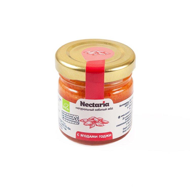Крем-мёд Nectaria с ягодами годжи, 40 г