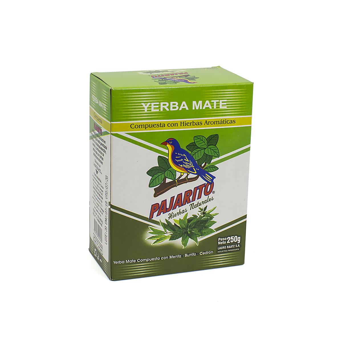 Мате Pajarito Compuesta Hierbas, 250 г