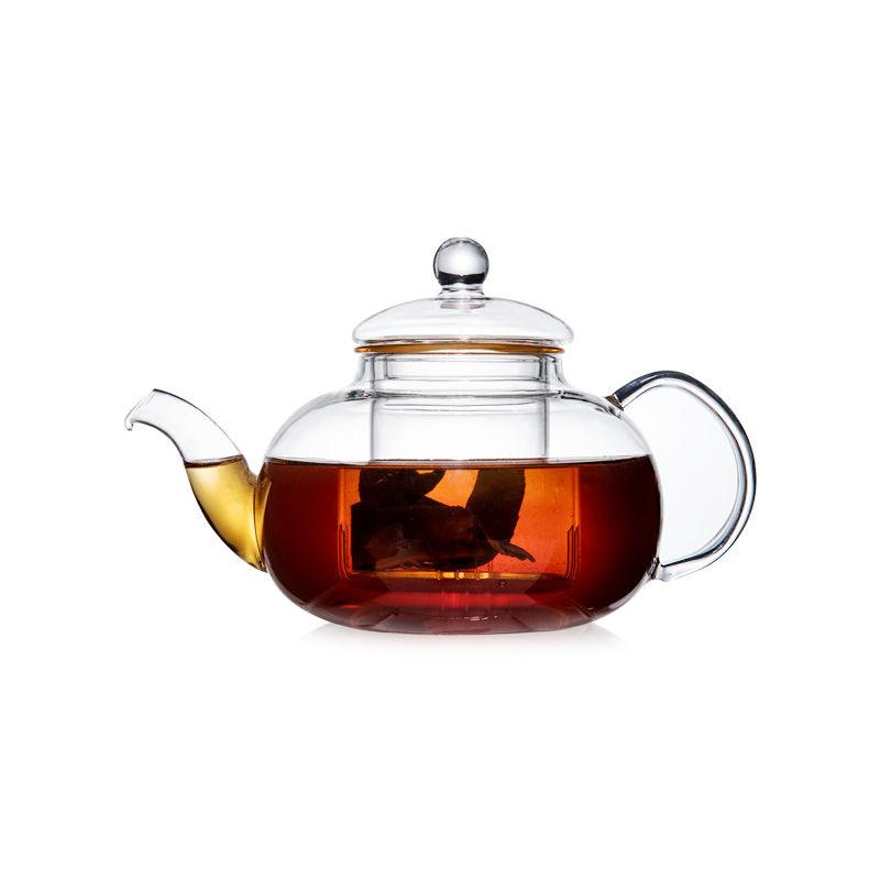Стеклянный заварочный чайник Смородина малая с заварочной колбой, 600 мл стеклянный заварочный чайник смородина малая без заварочной колбы 600 мл