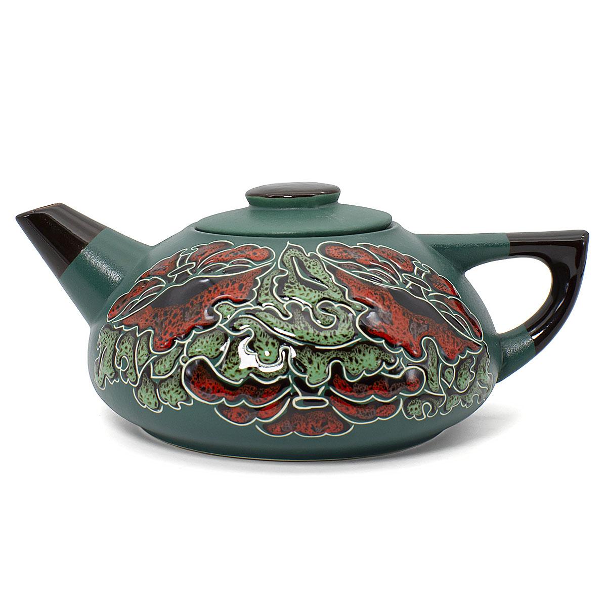 Чайник глиняный Аленький цветочек, 750 мл аленький цветочек 2019 11 24t13 00