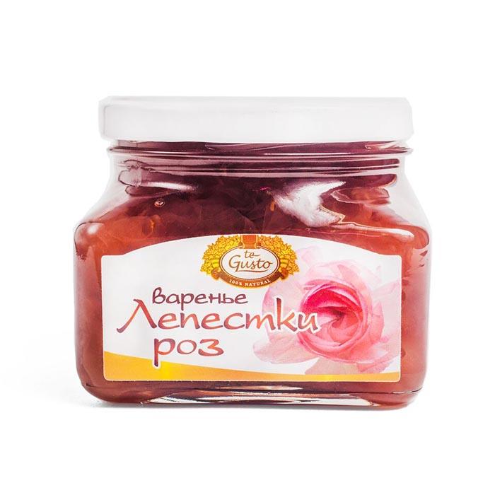 Варенье из лепестков роз Te-Gusto, 430 г