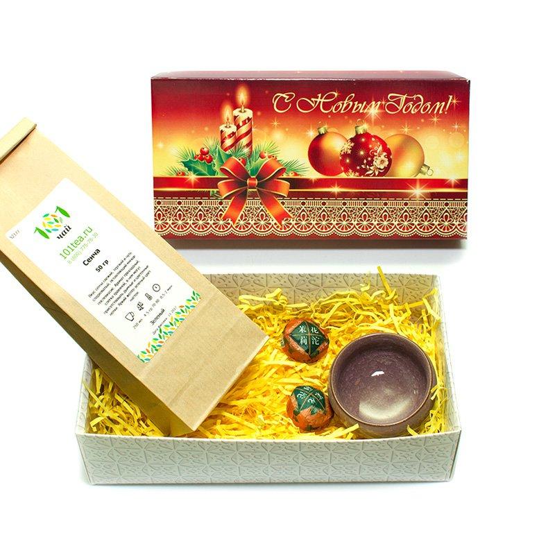 Новогодний подарочный набор №24 от 101 Чай