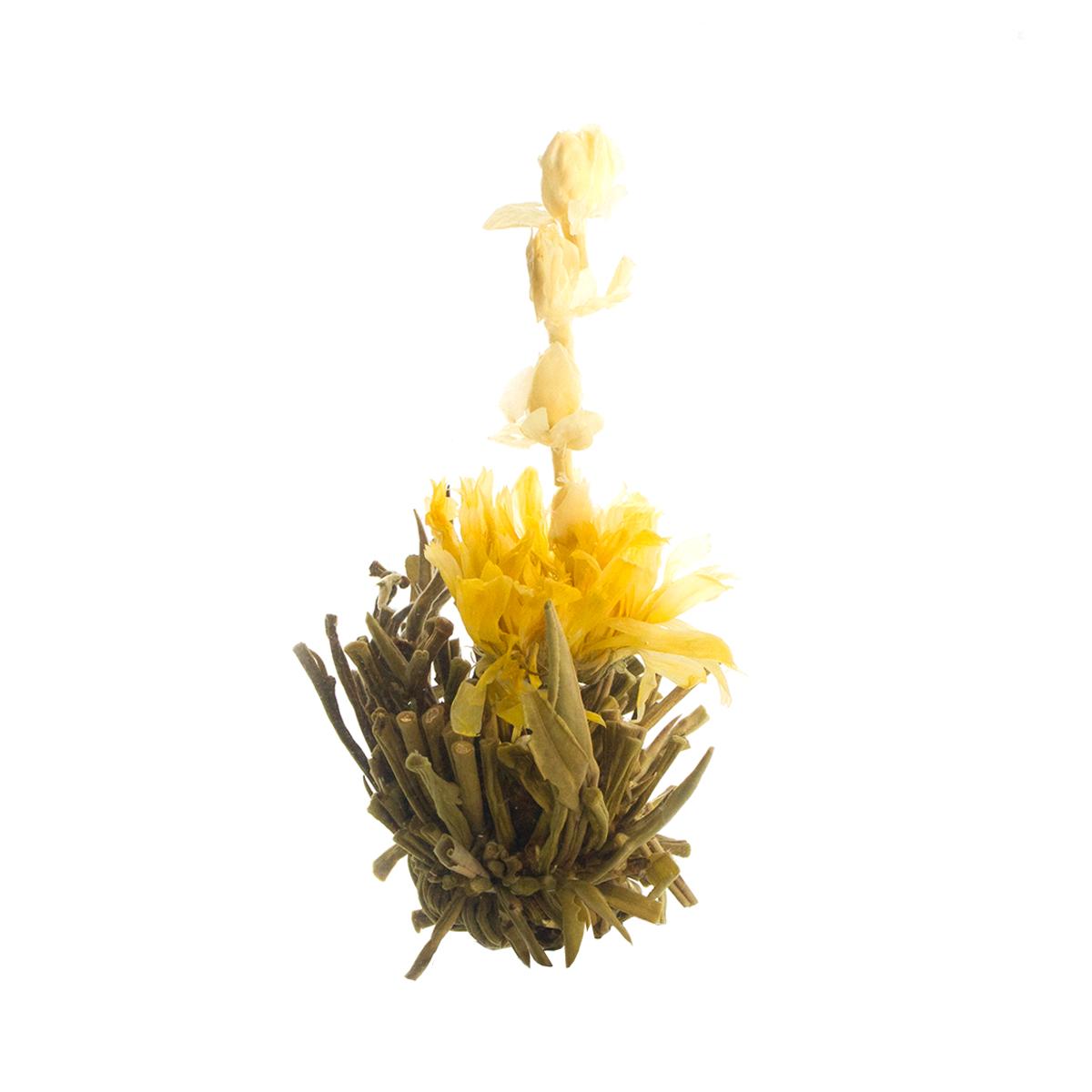 Связанный чай Чху Шуй Фу Жонг (Цветущий лотос), упаковка 5 шт от 101 Чай