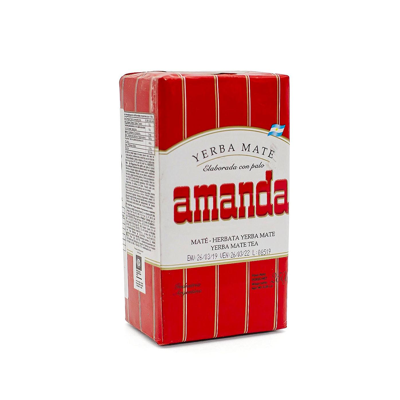 Мате Amanda Tradicional pressed, 250 г мате amanda tradicional pressed 250 г