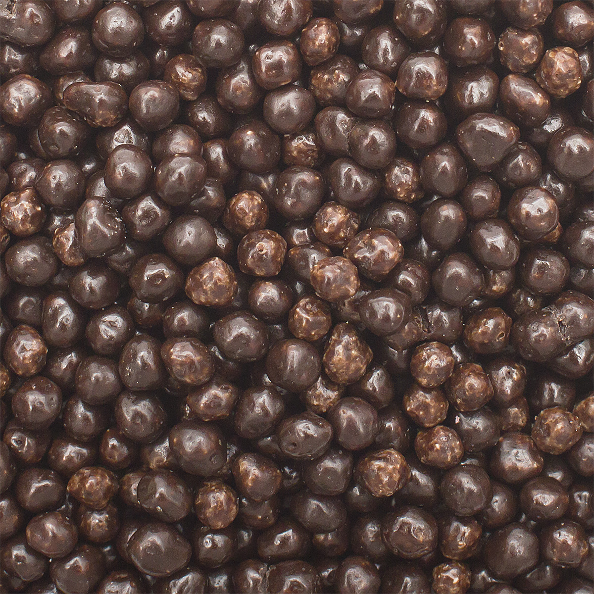 Рисовые шарики (2-4 мм) в темной шоколадной глазури, 250 г