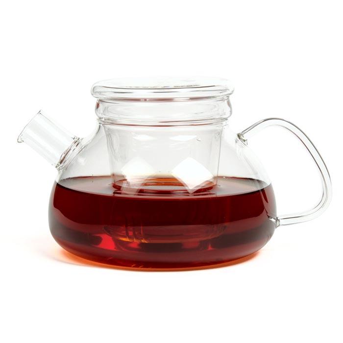 """Стеклянный заварочный чайник """"Киото"""", 750 мл"""