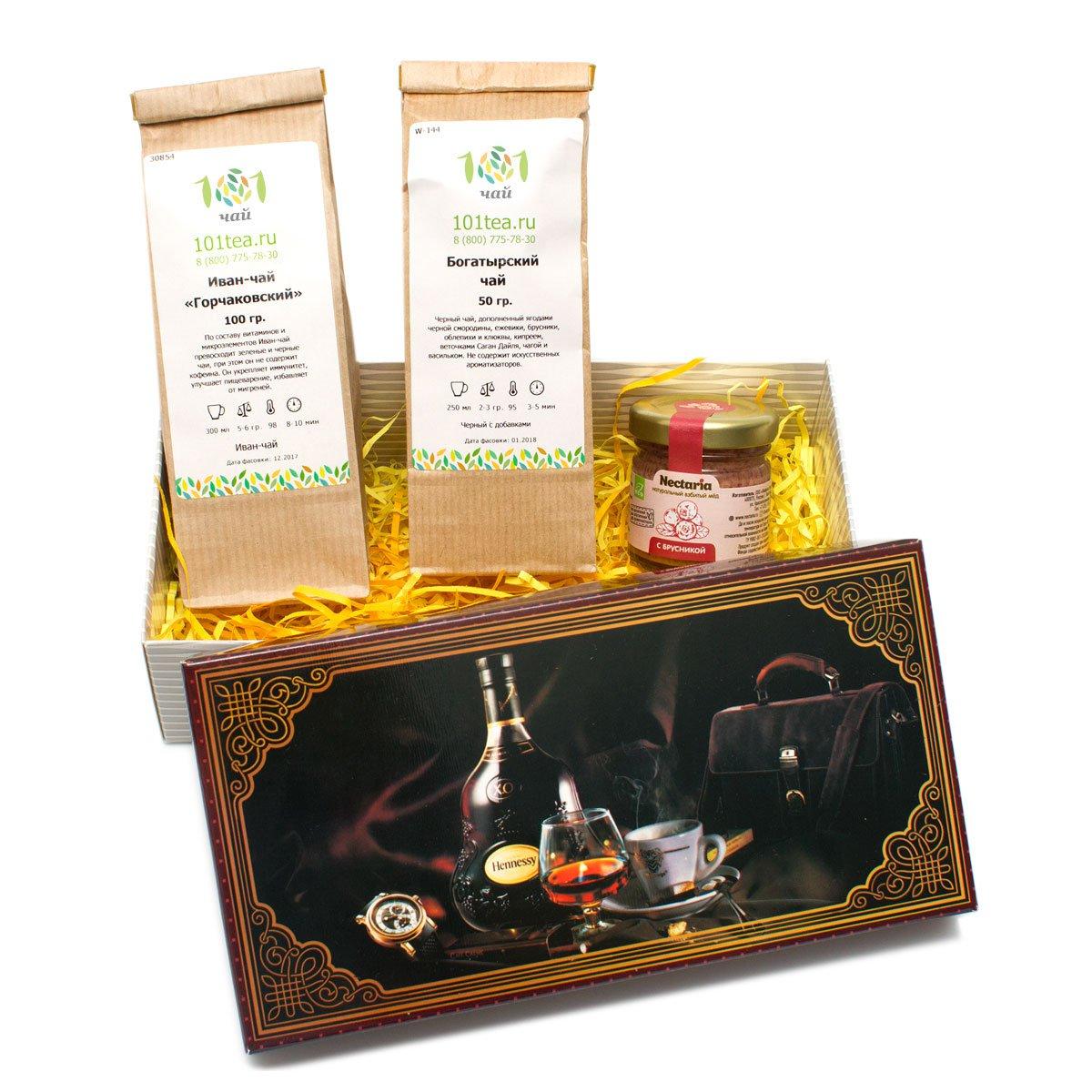 """Подарочный набор чая """"Богатырская сила"""" от 101 Чай"""