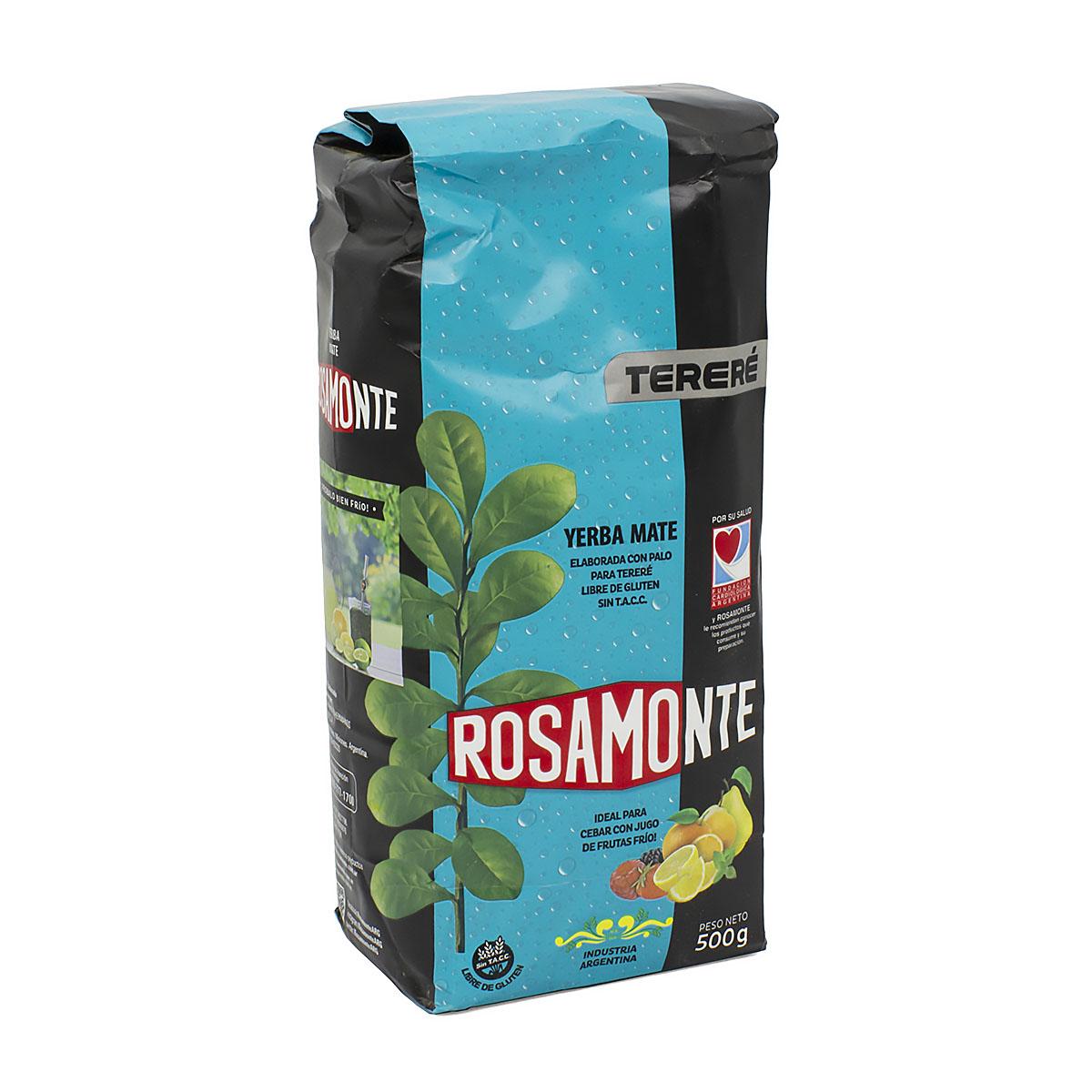 Мате Rosamonte Terere, 500 г мате rosamonte despalada 500 г