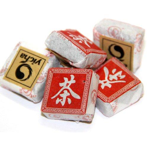 Красный чай Дянь Хун, прессованный, упаковка 5 шт.