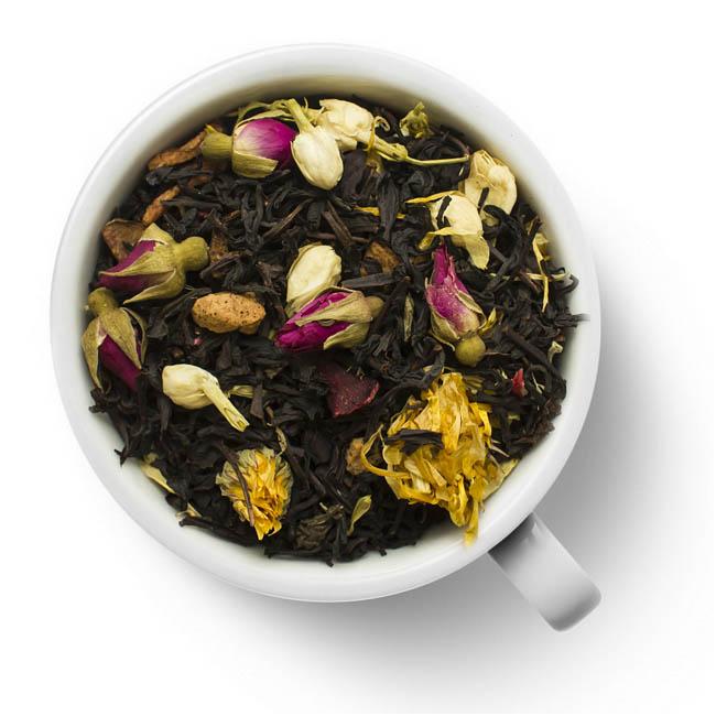 Черный ароматизированный чай Нечаянная радость