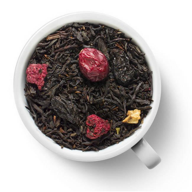 Черный ароматизированный чай Premium Ягодный микс