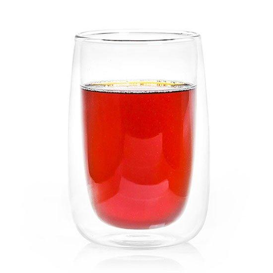 """Бокал из жаропрочного стекла с двойными стенками """"Лотос"""", 400 мл от 101 Чай"""