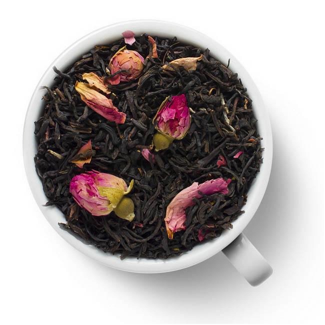 Черный ароматизированный чай Индийская роза