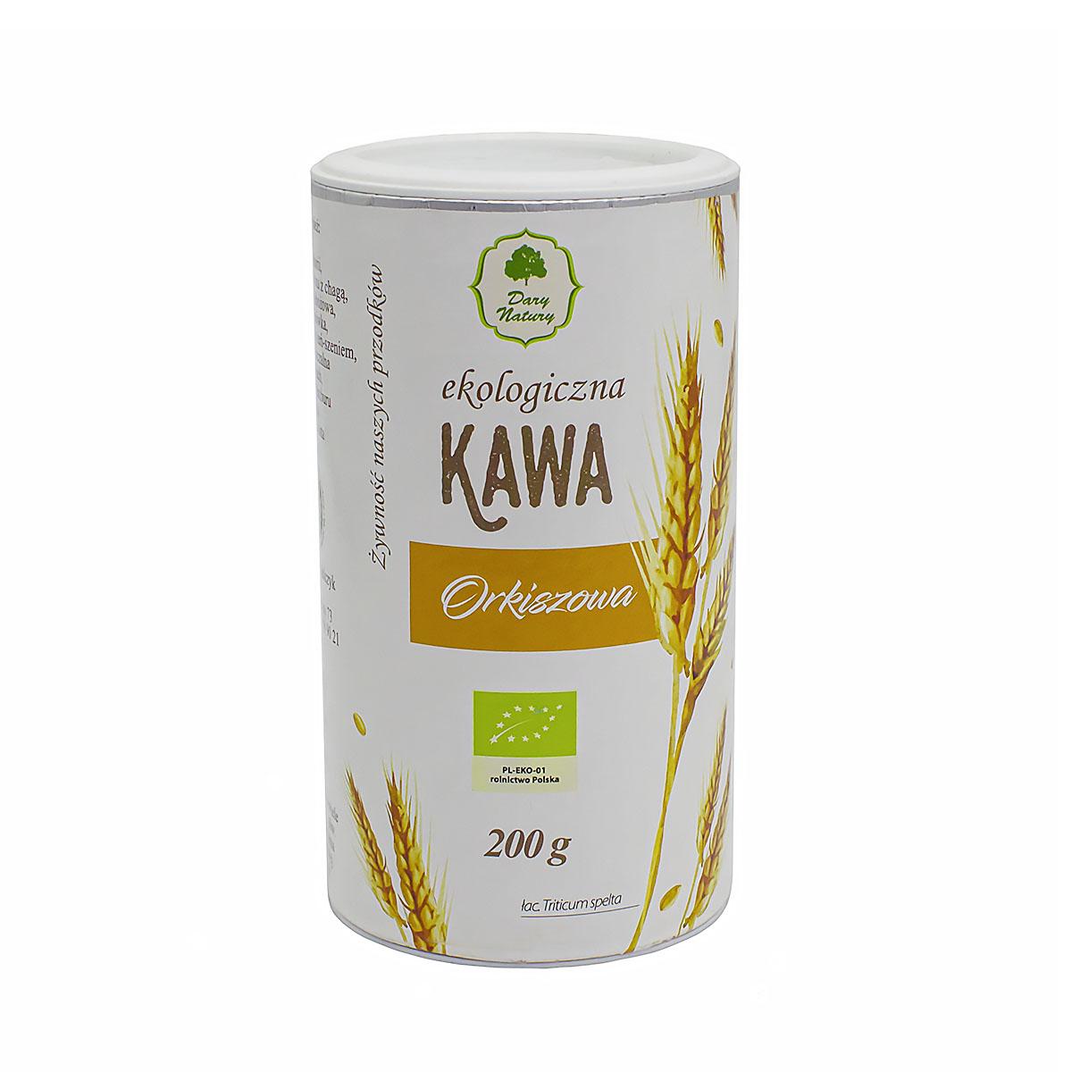 ЭКО-напиток Kawa из жареных семян пшеницы, туба, 200 г цена в Москве и Питере