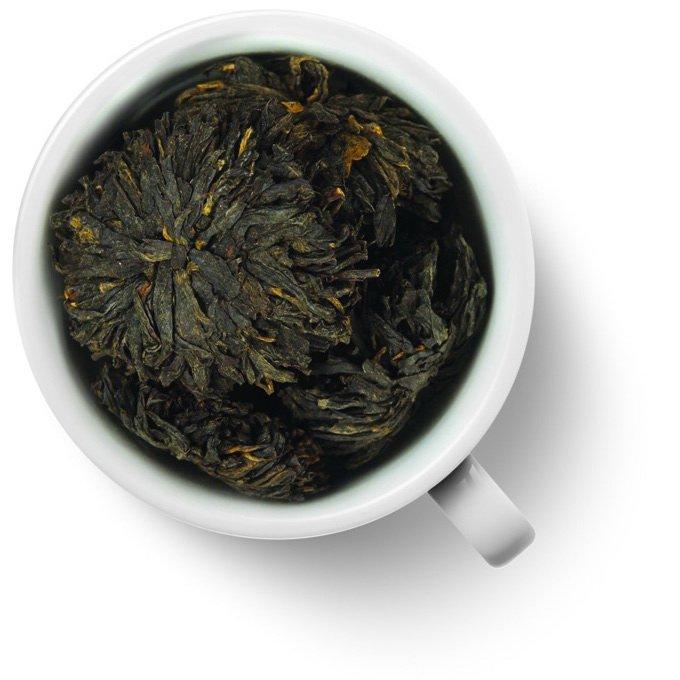 Связанный чай Хун Му Дань (Черный пион), упаковка 5 шт.