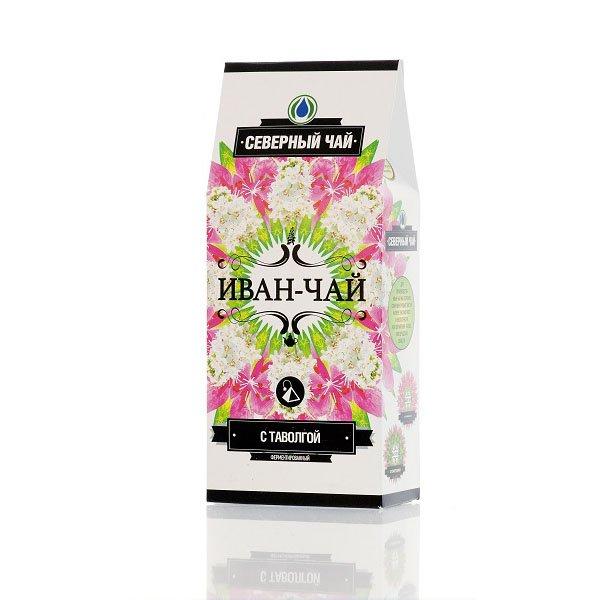 """Иван-чай """"Северный чай"""" ферментированный с таволгой в пирамидках (15 шт. х 2 г)"""