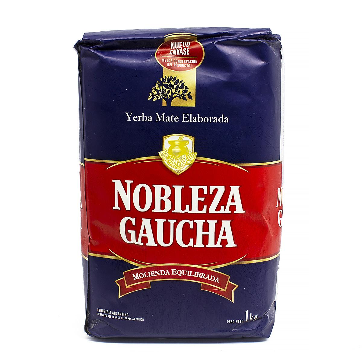 Мате Nobleza Gaucha AZUL, 1000 г мате pipore especial 1000 г