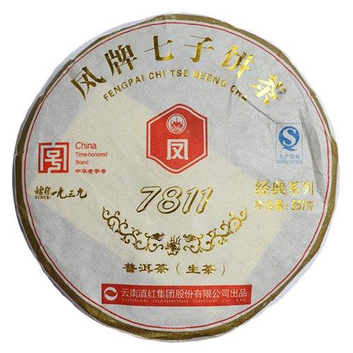 Шен Пуэр, 7811, 2012 г., блин 357 гр. от 101 Чай