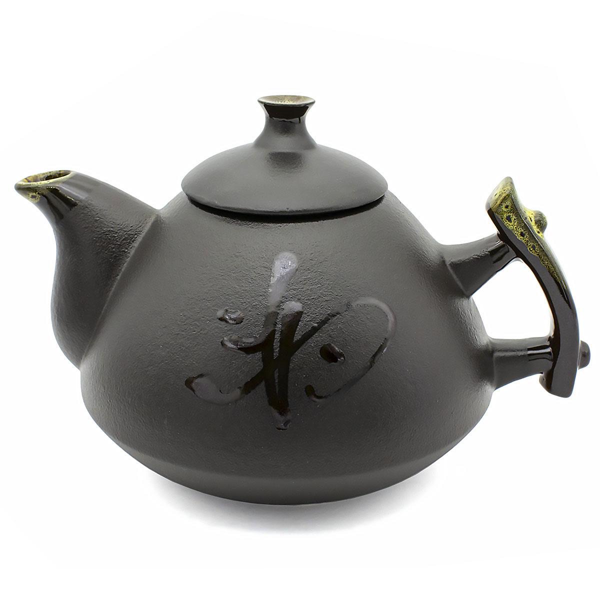 Чайник глиняный Кофейная пенка, 800 мл