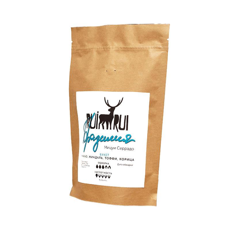 Кофе в зернах Бразилия Мицуи Серрадо, уп. 250 г