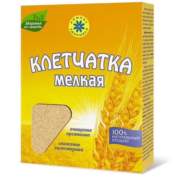 Клетчатка пшеничная мелкая, 200 г от 101 Чай