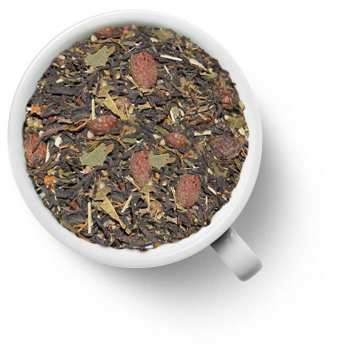 Черный ароматизированный чай со зверобоем