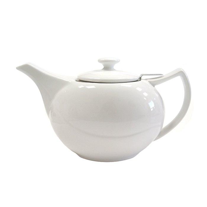 Фарфоровый заварочный чайник, 600 мл от 101 Чай