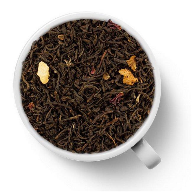 Черный ароматизированный чай Пряный фрукт