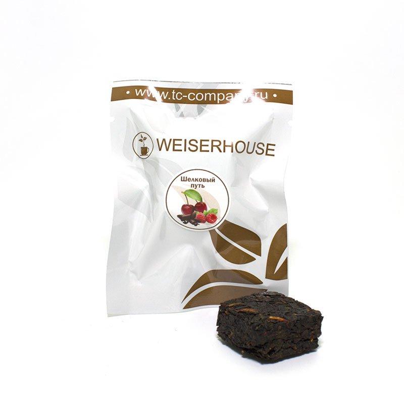 Чай черный Шелковый путь прессованный в кубиках (5-7 гр.) в инд. упак. чай basilur чай basilur волшебные фрукты вишня и черешня 1 баночка