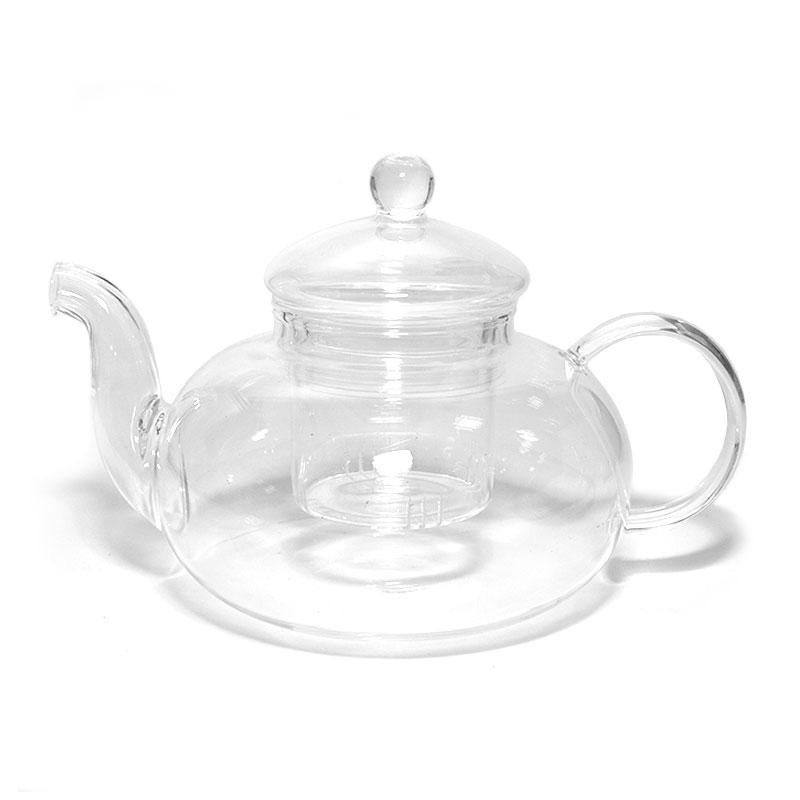 """Стеклянный заварочный чайник """"Ежевика"""", 800 мл"""