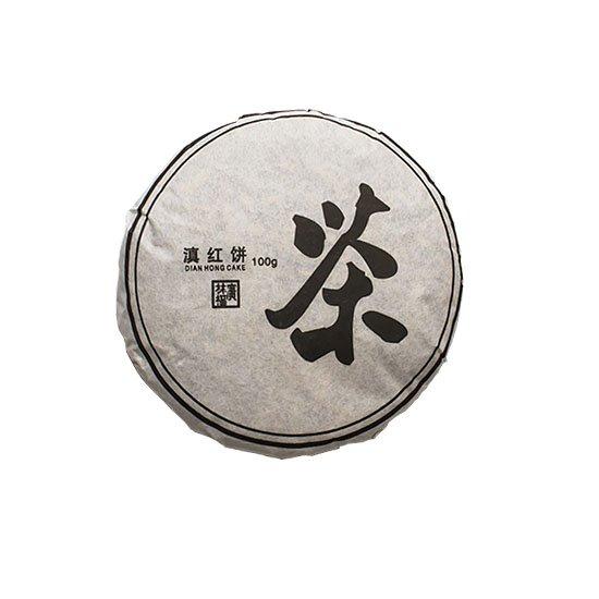 Красный чай Дянь Хун черносливовый, прессованный, 100 гр.