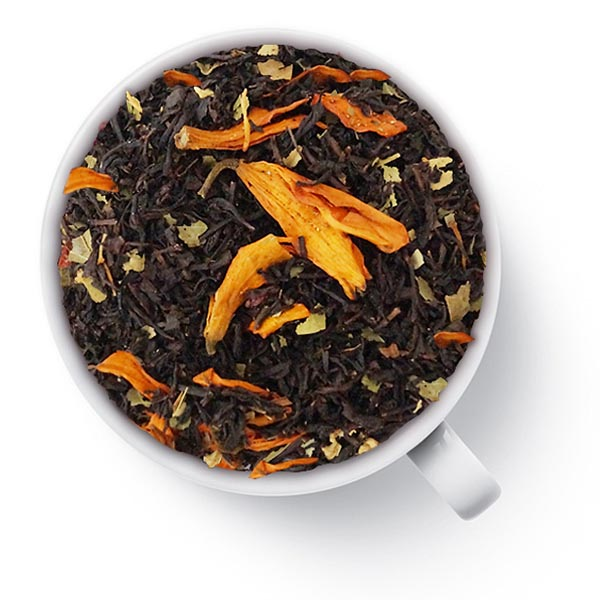 Черный ароматизированный чай Гранатовый