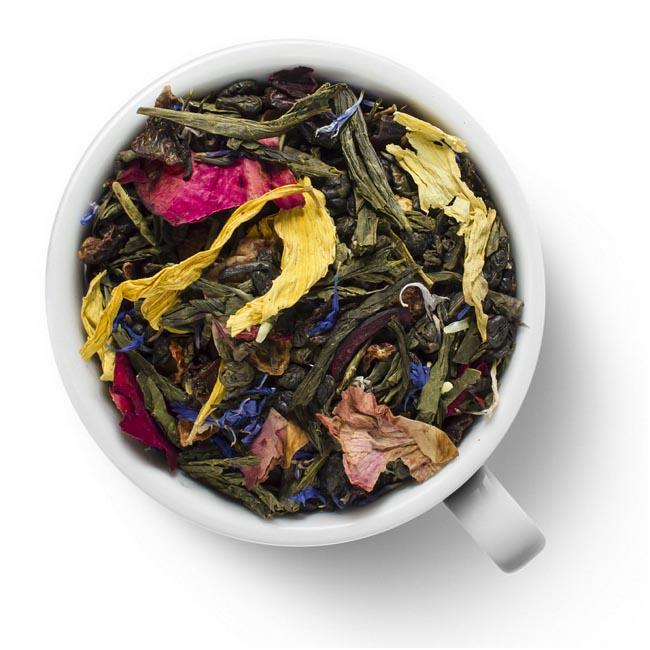 Зеленый ароматизированный чай Бабао (Тысяча драгоценностей)