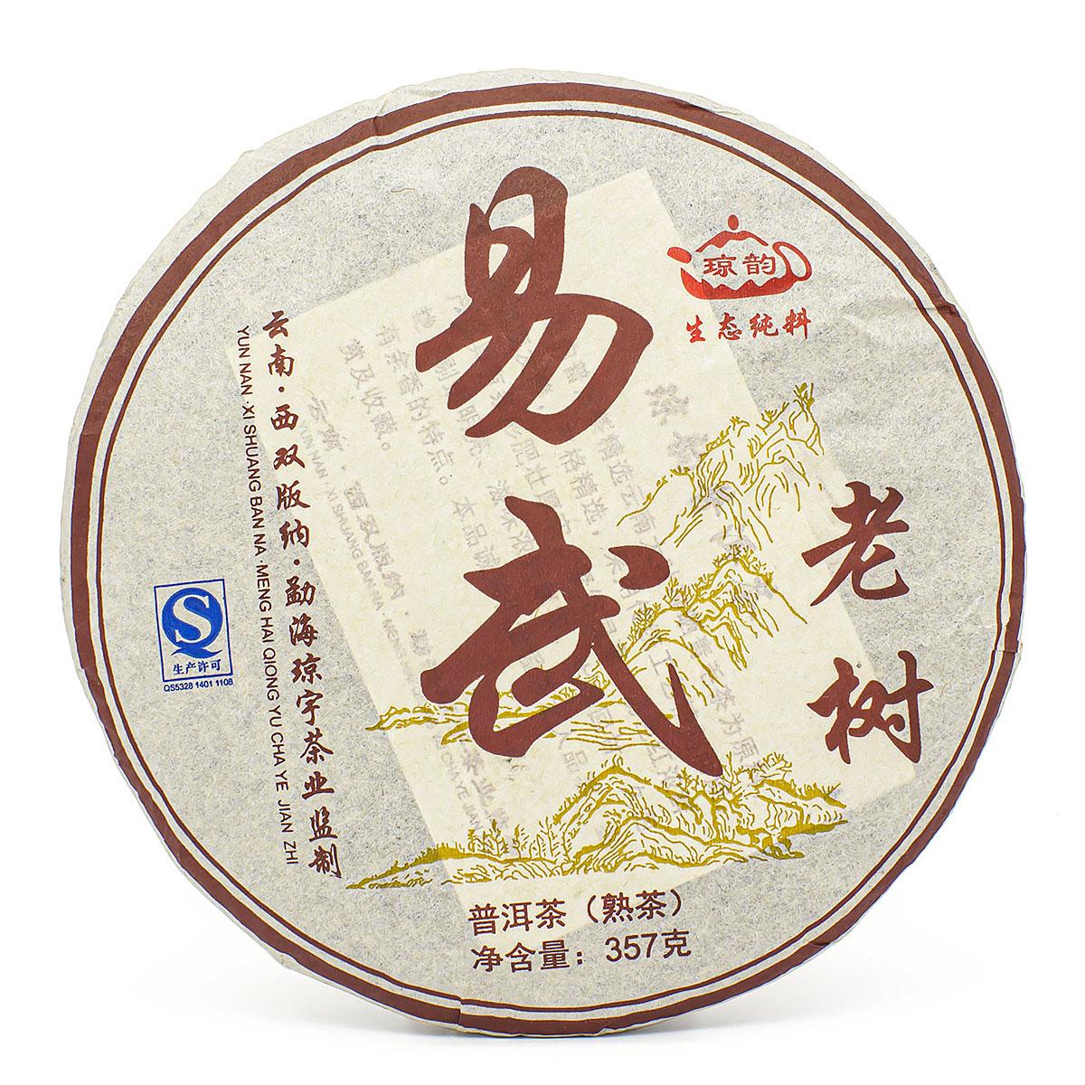Шу Пуэр И У Лао Шу, блин 357 гр.