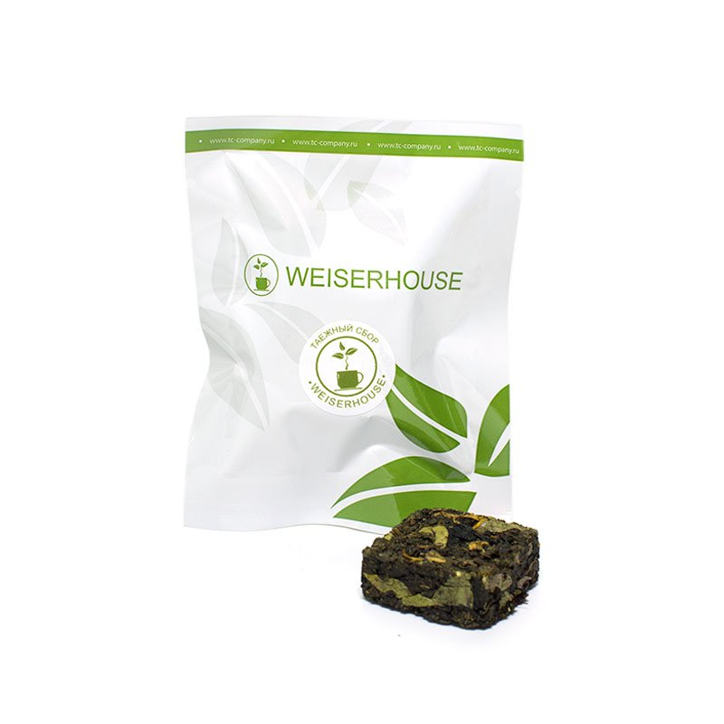 Чай зеленый Таежный сбор, прессованный в кубиках (5-7 гр.) в инд. упак. цены