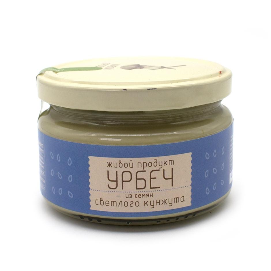 Урбеч из семян светлого кунжута, 225 г