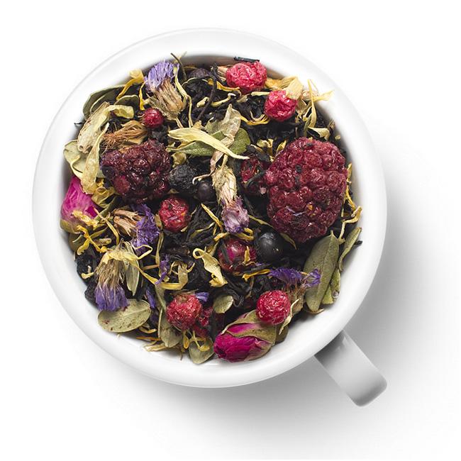 Черный ароматизированный чай Таёжный