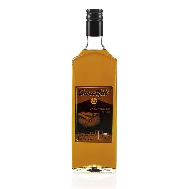Сироп SweetFill Корица, 0,5 л (уцененный товар) vedrenne карамель сироп 0 7 л