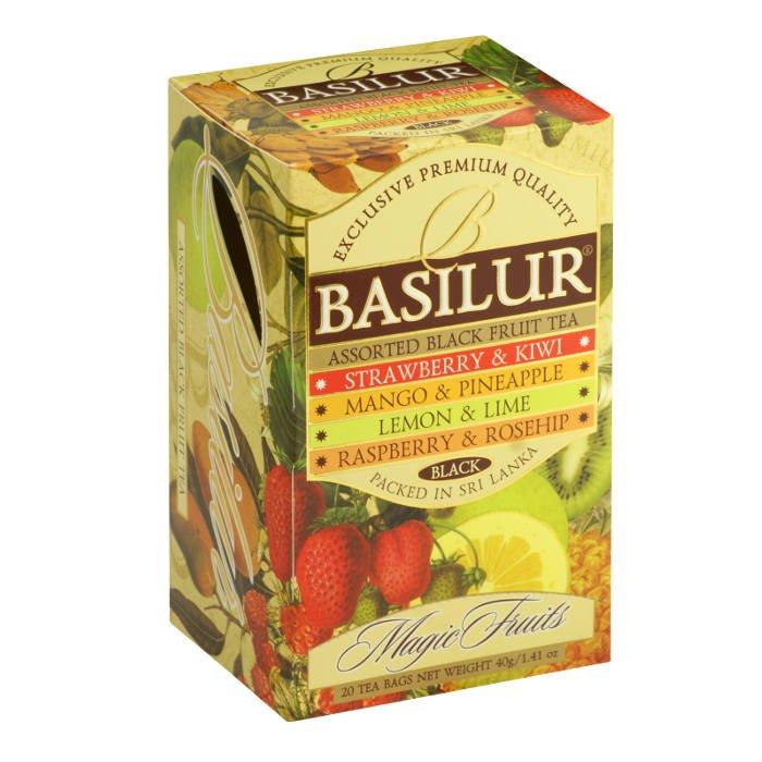 """Черный чай Basilur Волшебные фрукты """"Ассорти"""", 20 пак х 2 г от 101 Чай"""