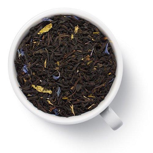 Черный ароматизированный чай Голубика в йогурте