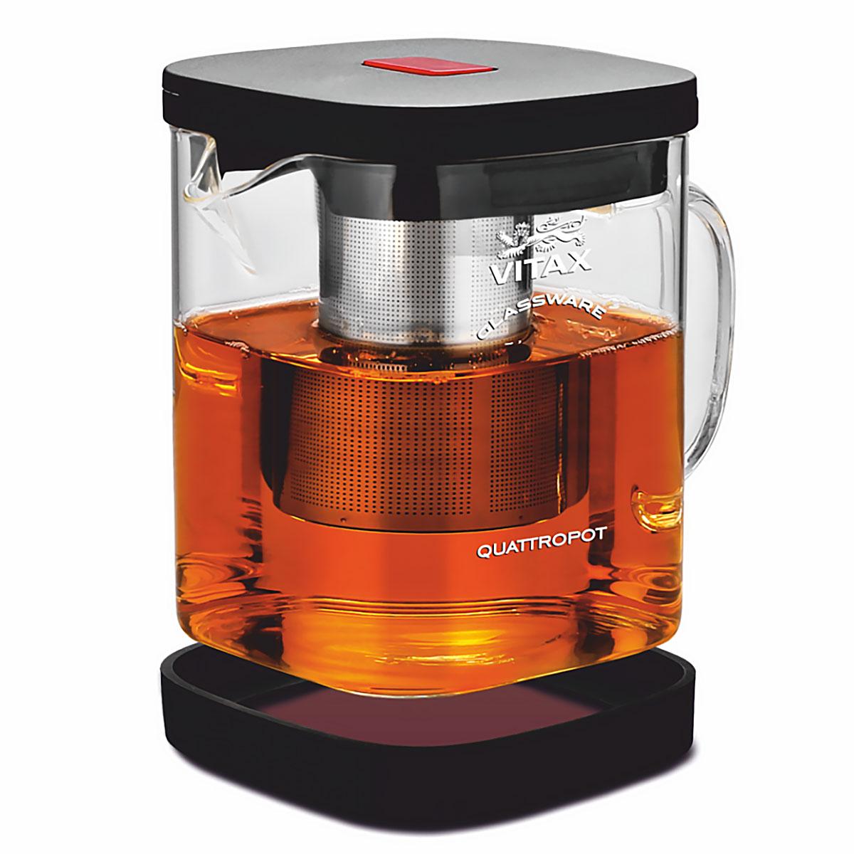 Чайник заварочный Vitax VX-3310 Warkworth 4 в 1, 900 мл