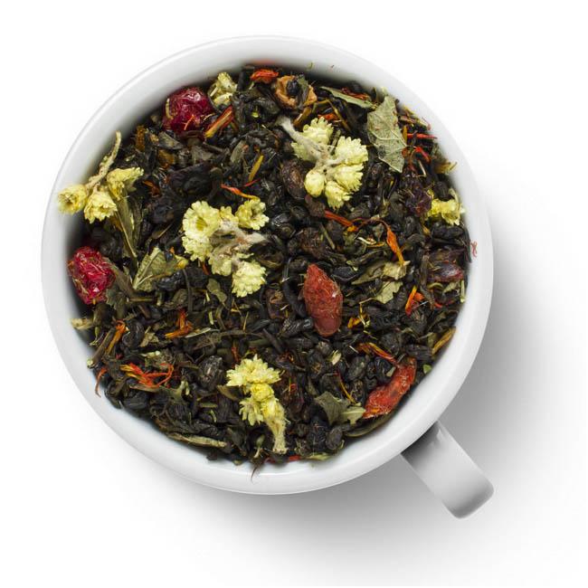 Зеленый ароматизированный чай Тибетский отвар
