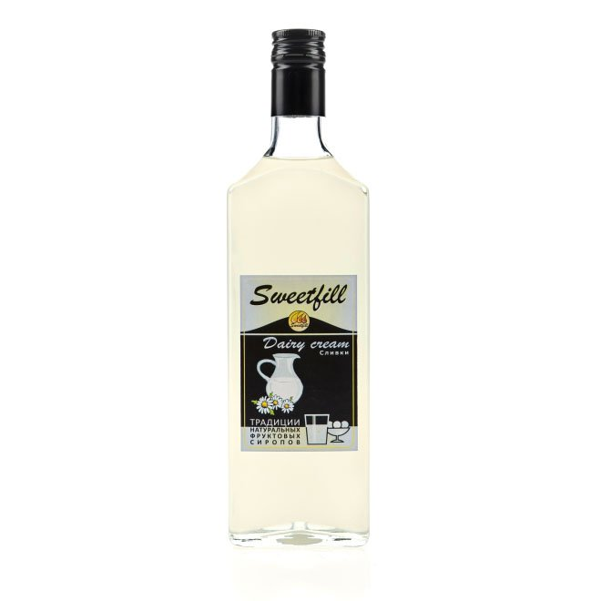 Сироп SweetFill Сливки, 0,5 л (уцененный товар) barinoff сироп мятный 1 л