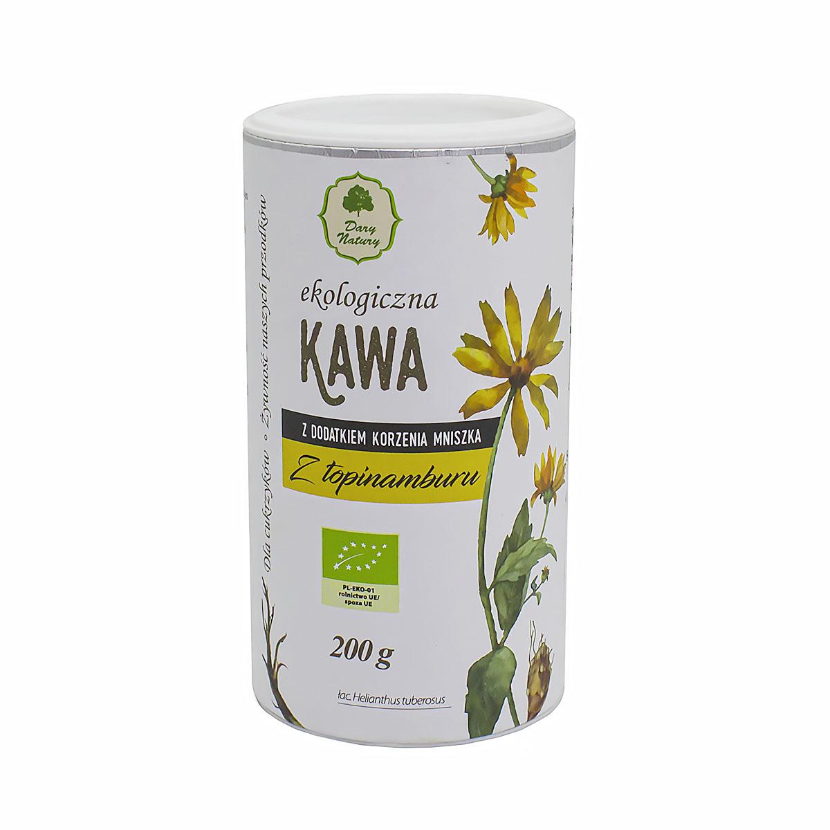 ЭКО-напиток Kawa из жареных корней топинамбура и одуванчика, туба, 200 г цена в Москве и Питере