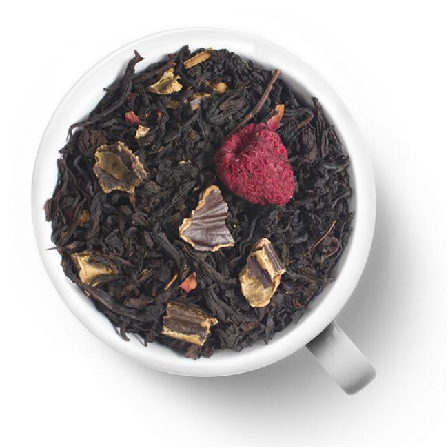 Черный ароматизированный чай Венеция