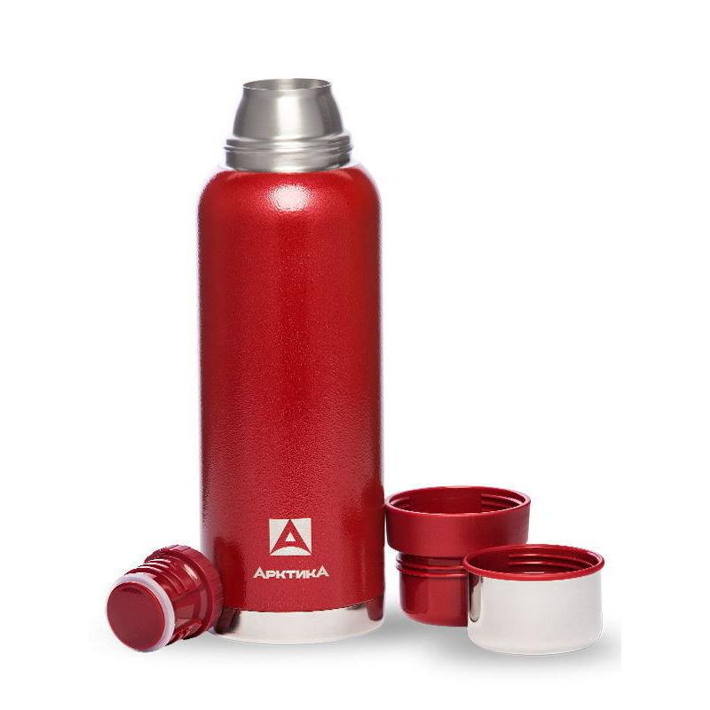 Термос для напитков Арктика 106-1200 (красный), 1200 мл