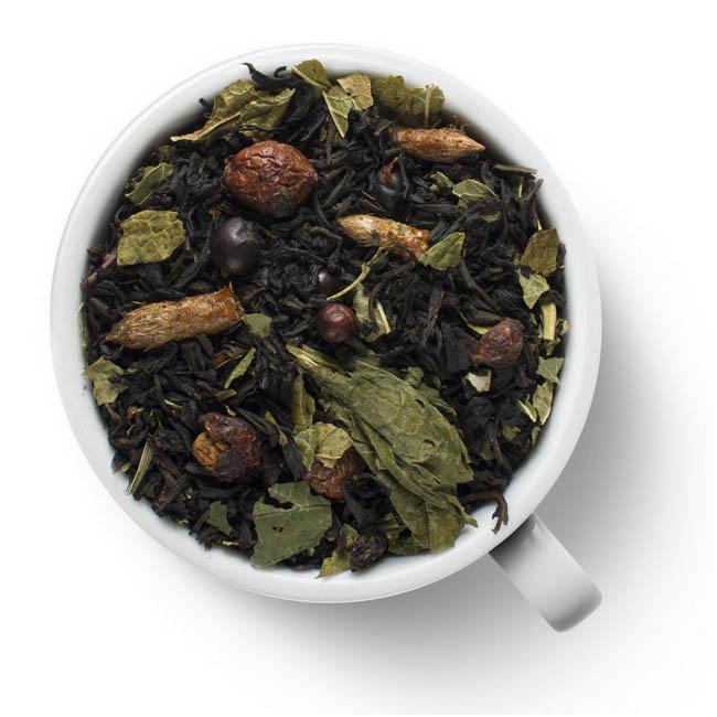 Черный ароматизированный чай Сила Сибири