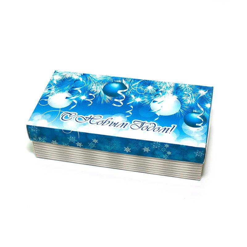 "Коробка подарочная ""С Новым Годом!"" (вар.2), 20х10х5,5 см"