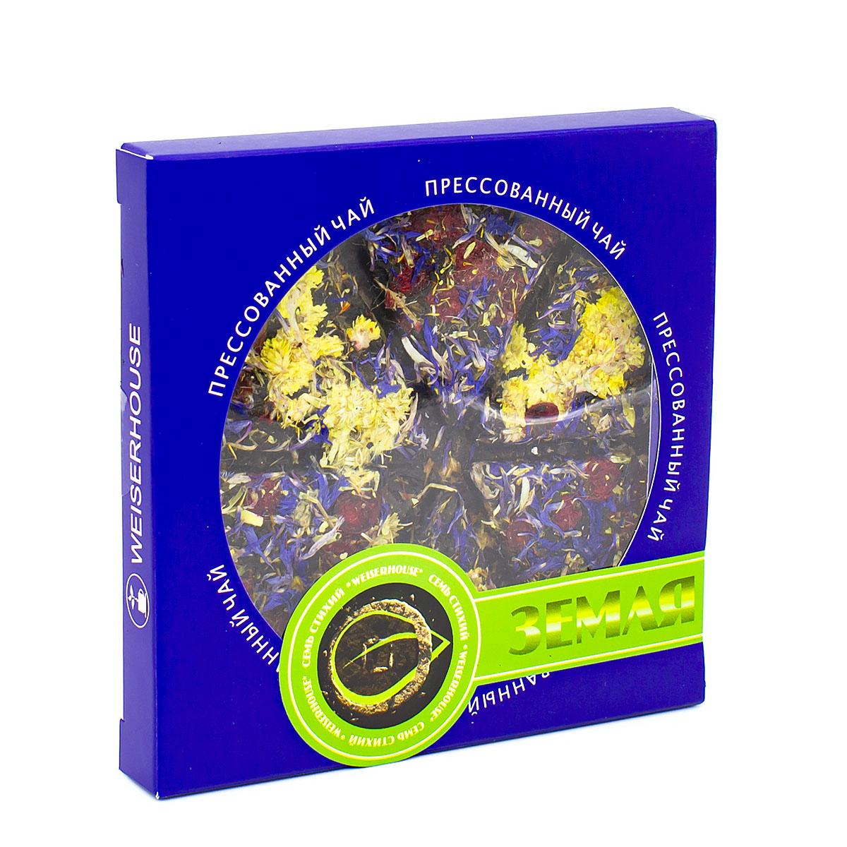 Фото - Чай чёрный Земля, прессованный, блин, 75 г чай чёрный вселенная прессованный блин 75 г