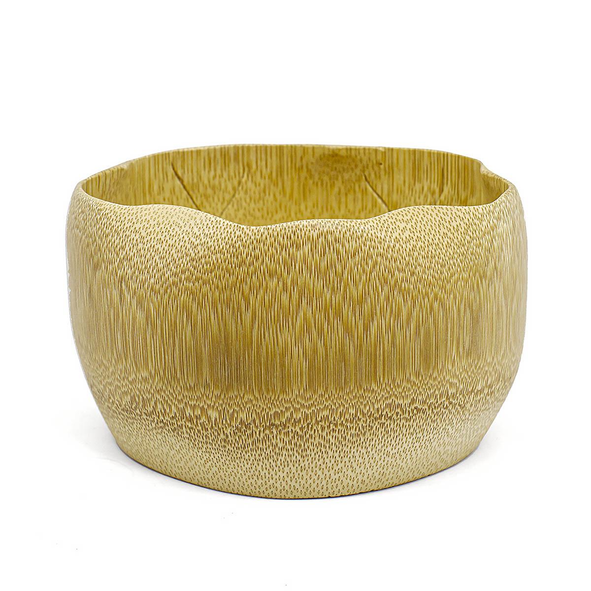 Чаша для матча бамбуковая, 300 мл чаша для матча керамическая сапфировая 500 мл